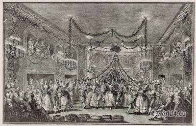 Versailles, ball, carnaval, costumes, Versailles, Royal, château, Louis XIV, palace, France,