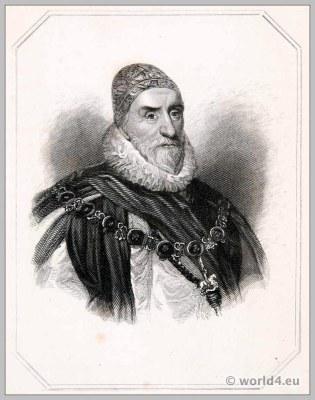 Charles Howard, Earl, Nottingham, England, 17th century, Tudor, fashion history