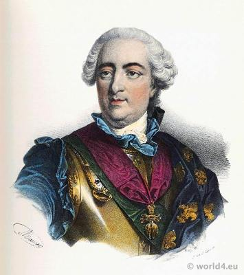 Louis XV, Louis le bien aimé