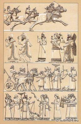 costume,Assyria,Soldiers,Warriors, Sumeria, Ceremonials