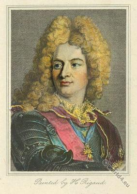 Louis-Alexandre de Bourbon. Marquise de Montespan. Lous XIV fashion. 17th century nobility. Baroque era costumes