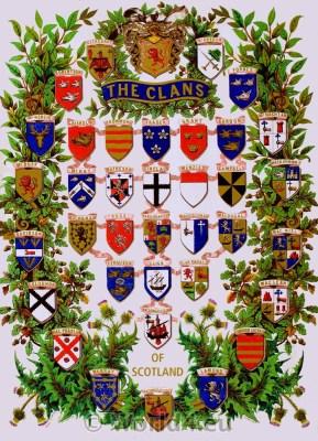 Heraldic, Clans, Scotland