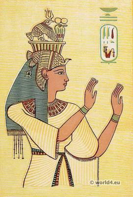 Ancient Egypt Queen costume. Amenhotep III.