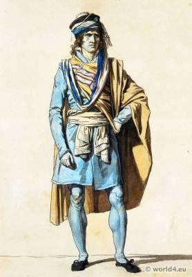Jacques-Louis David. French revolution fashion. Habit de législateur. Le représentant du peuple François en function.
