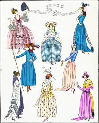 Élégantes. Les Modes sous la Revolution.