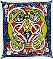 Manuscript, Medieval letter, decoration, Middle ages, Book illustration, Initial letter,