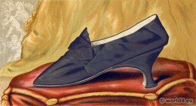 Renaissance Shoes 16th century fashion.