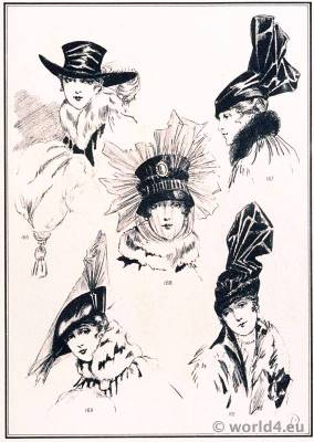 Hat Modèles de Maria Guy. Le style parisien. Art deco fashion magazine. French parisiennes collection haute couture