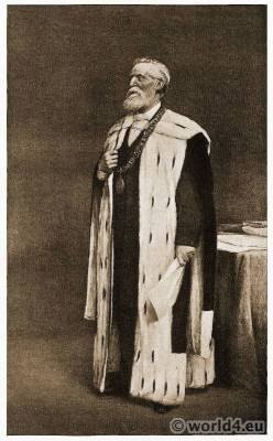 Samuel Chisholm. Painter Joseph Henderson. 1st Baronet. Doctor of Laws. Scottish Liberal politician. Lord Provost of Glasgow.
