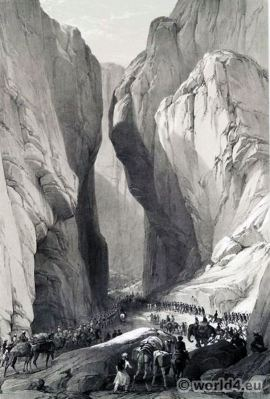 First Afghan War. British Indian Army. Army of the Indus. James Atkinson. Bolan-Pass