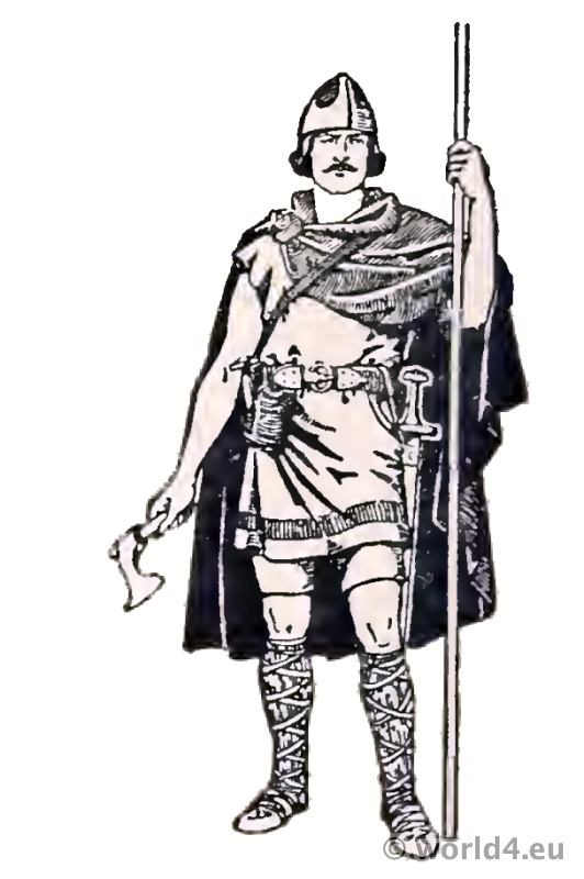 Frankish Merovingian Costume History