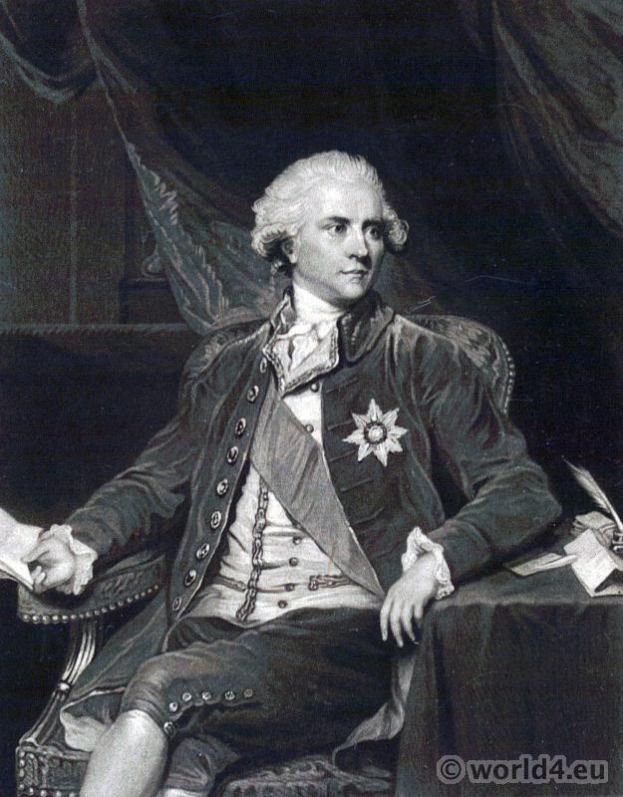 James Harris, 1st Earl of Malmesbury 1746–1820. English diplomat. Portrait French Revolution History