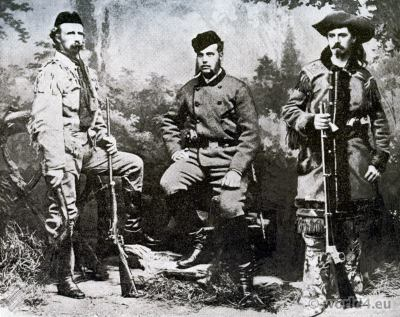 General Custer, Grand Duke Alexis, Buffalo Bill.