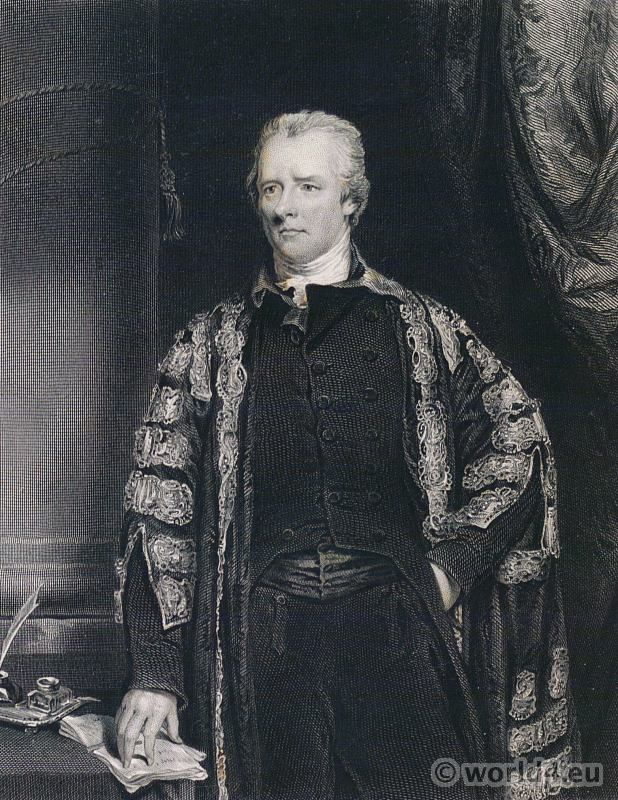 Portrait William Pitt the Younger 1759–1806. British Prime Minister. French Revolution History