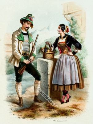Tyrol, Costumes, Alexandre Lacauchie, fashion history