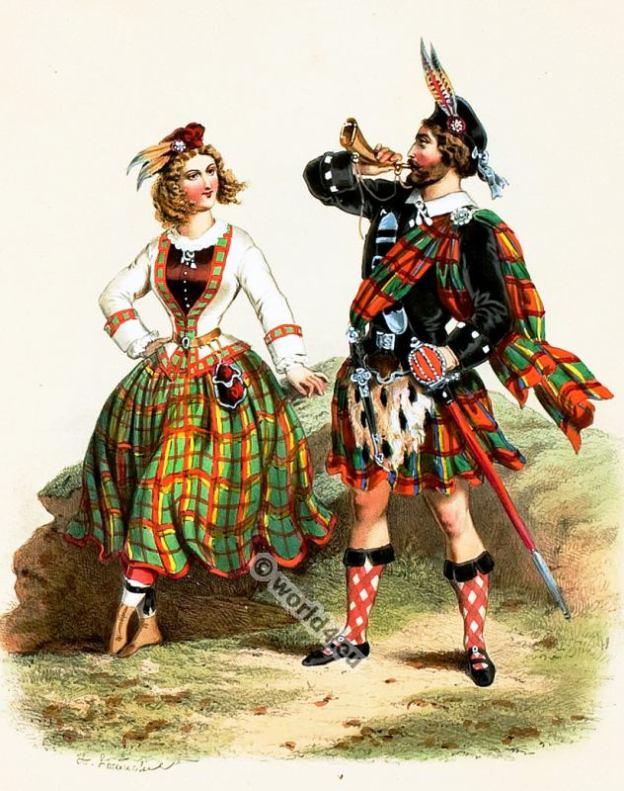 scotland costumes. Traditional Scottish National Costumes. Scottish Kilts. Scottish Tartans.