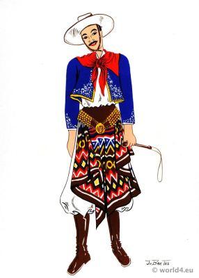 Gaucho, costume, Argentina, Traditional, chiripá, Jo Bartas