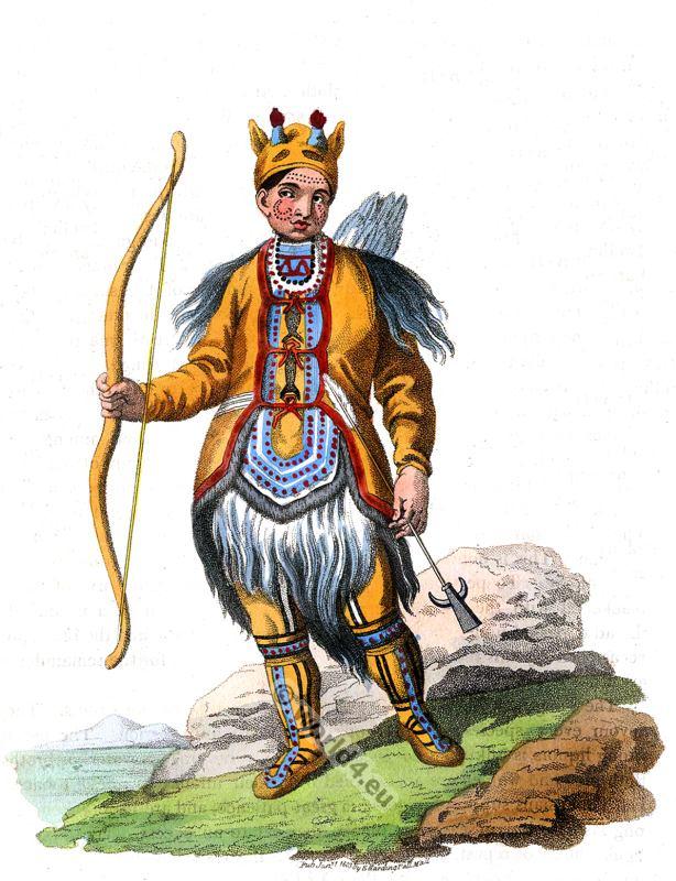 русская народная одежда, Evenki, traditional, Dress, Tungus, Tunguz, Mongolia, folk, costumes