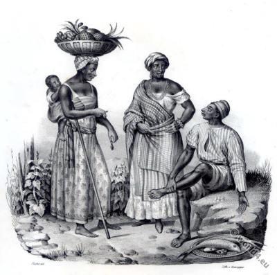Brazil, Bahia, costumes, traditional, dress