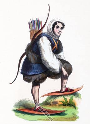 Russia, Siberia Samoyeds, Traditional Nenets costume, Nomadic clothing