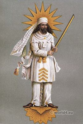 Zoroaster. Zoroastrianism in India. Traditional Parsee clothing