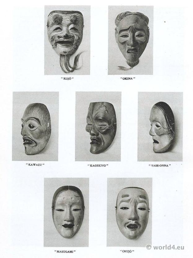 No masks. Kiyotoki-Shimomura. Hōshō Kurō Tomoharu.