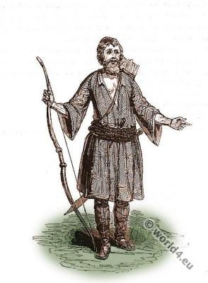 Crete, mountaineer,costume, fashion, history, historical, dress, costumes, Robert Pashley