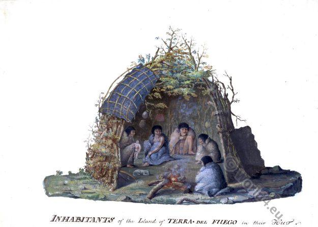 Tierra del Fuego. Inhabitants.