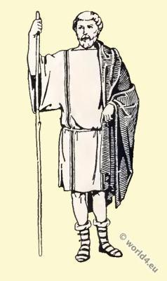 Byzantine Costume History. The dalmatica-