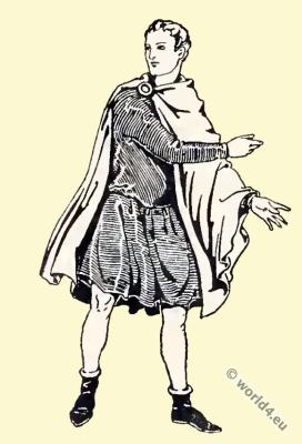 Byzantine Costume History. Nobility costume tunica.