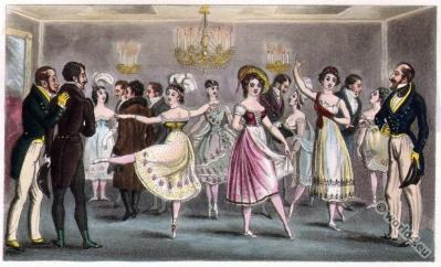 Dandy Clubs. Dandysme. Romantic era fashion. Satirical 19th century.