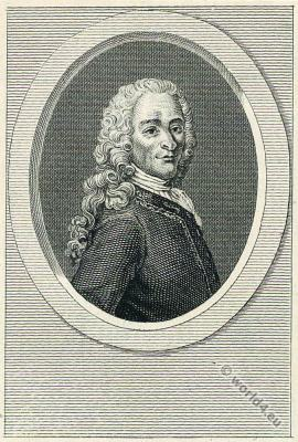 Voltaire. French Philosopher, Historian, Writer.