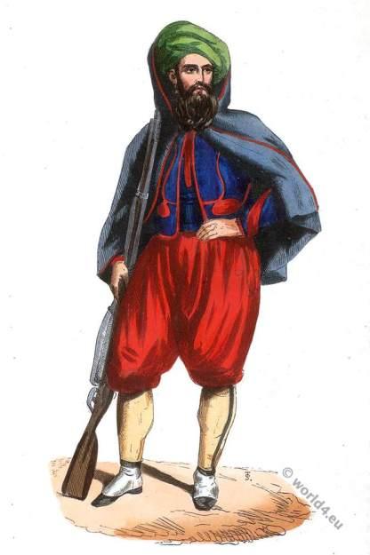 Zouave, light-infantry corps (Algeria). Zouave (Algérie).
