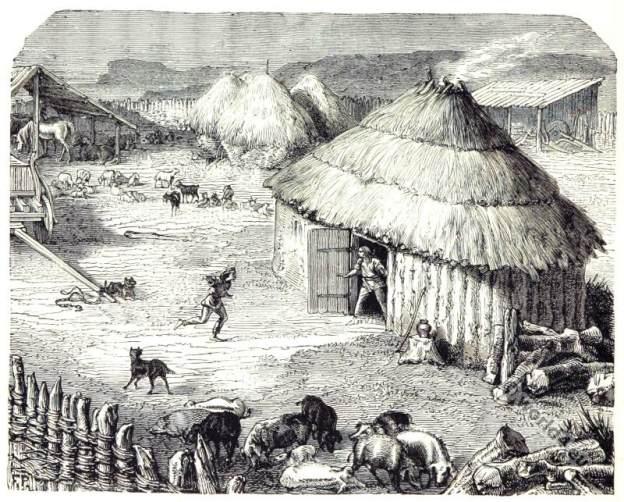 Ancient Paris as a Celtic, Gaelic settlement.