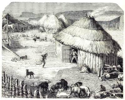 Ancient Paris as a Celtic, Gaelic settlement. Lutetia.