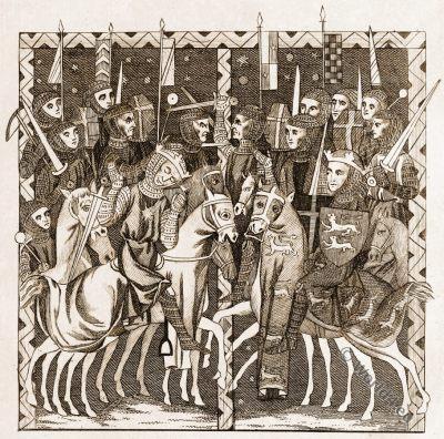 King Harold. British Saxon, William the Conqueror, Norman
