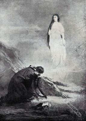 Character sketches, Lord Byron, Manfred, Astarte, Romanticism,