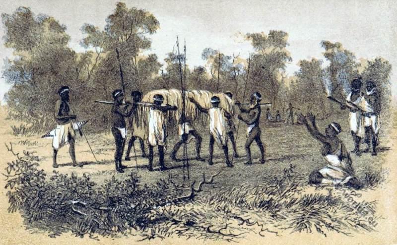 Native Inquest Aboriginals Australia. South Australia Tribe.