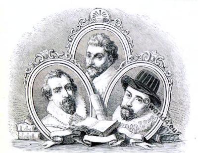 Sir Francis Drake. Sir John Hawkins. Sir Martin Frobisher. Seamen of 16th-century England,