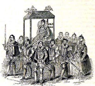 Queen, Elisabeth, Tudor, England, fashion history