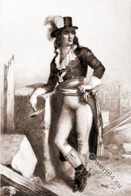 Jean-Marie Collot d'Herbois. French Revolution. Directory costume.