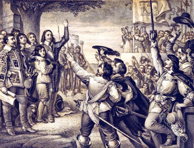 England history 17th century.