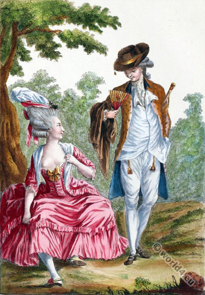 Fashion and costume in the 18th century costume history for Rococo period paintings