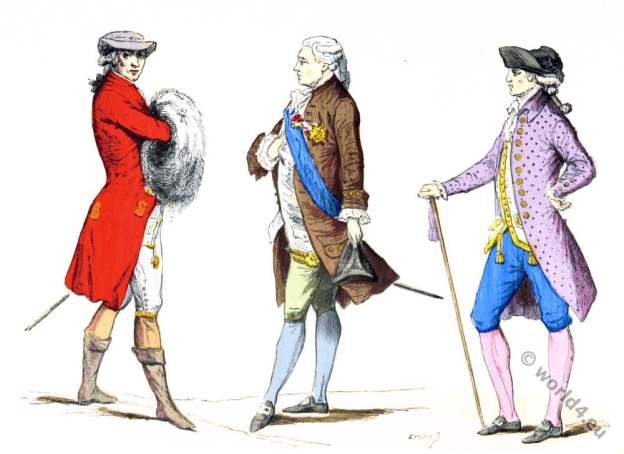 Justaucorps, Rococo, fashion, Paris, nobility,