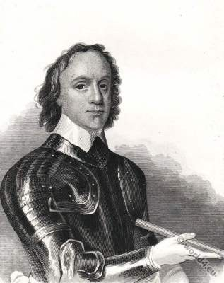 Oliver Cromwell. Lord Protector of England, Scotland and Ireland. England History. 17th century.