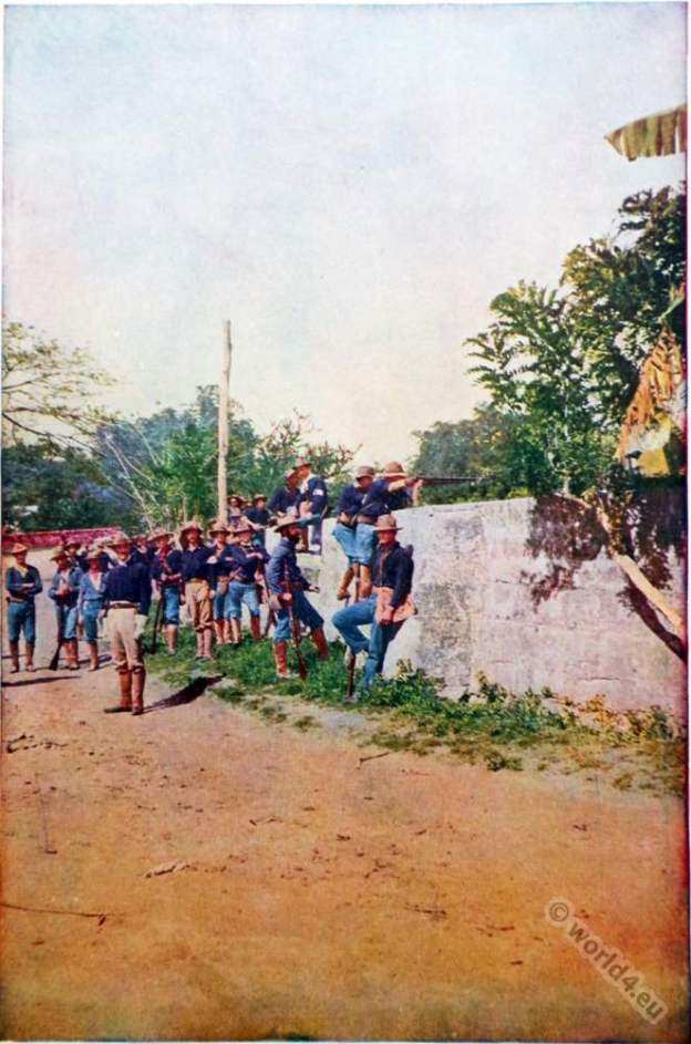 U.S Army, Skirmish, Philippine islands, Philippine–American, War, colonialism,