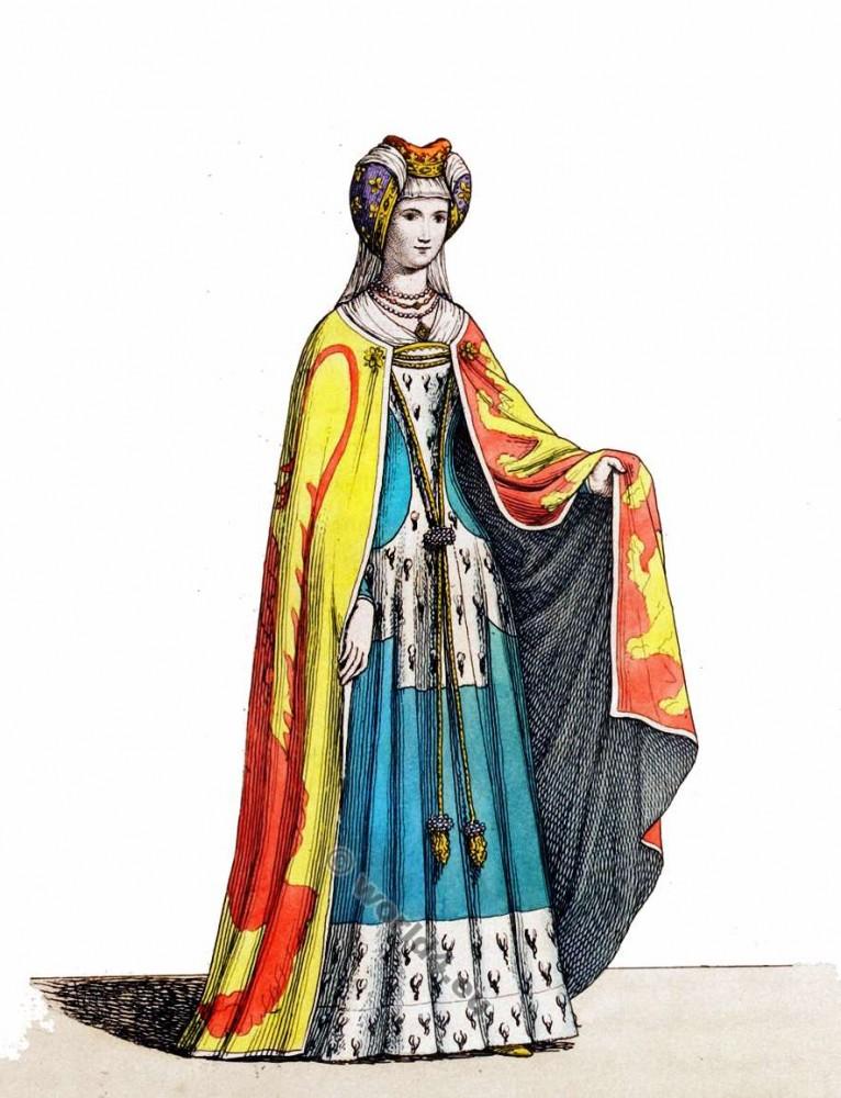 Les vetements des nobles au moyen age - vetement breton