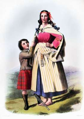 Clann Mhathain. The Mathesons. Clan. Tartan. Scotland national costume. Clans of the Scottish Highlands.