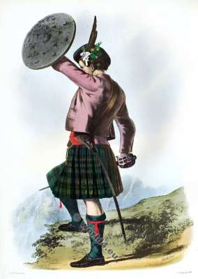 Clann Mhoraidh. The Murrays. Clan. Tartan. Scotland national costume. Clans of the Scottish Highlands.