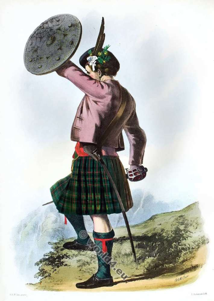 Clann Mhoraidh. The Murrays. Clan. Tartan. Scotland national costume. Clans of the Scottish Highlands.